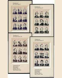 US 2216-2219 US Presidents