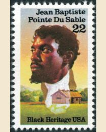 #2249 - 22¢ Jean Baptiste Pointe du Sable