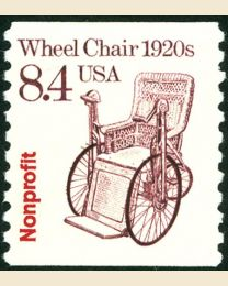 #2256 -  8.4¢ Wheelchair precancelled