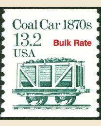 #2259 - 13.2¢ Coal Car precancelled