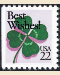 #2271 - 22¢ Best Wishes