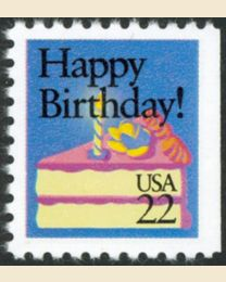 #2272 - 22¢ Happy Birthday