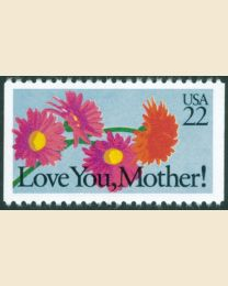 #2273 - 22¢ Love You Mother