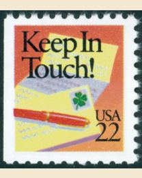 #2274 - 22¢ Keep in Touch