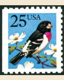 #2284 - 25¢ Grosbeak