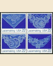#2351S - 22¢ Lacemaking