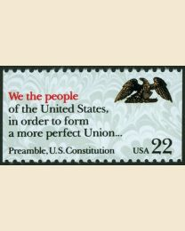 #2356 - 22¢ We the People