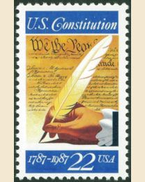 #2360 - 22¢ Signing of the Constitution