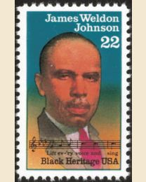#2371 - 22¢ James W. Johnson