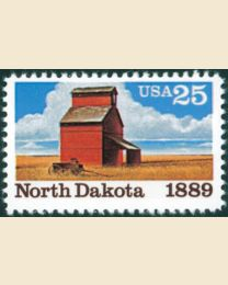 #2403 - 25¢ North Dakota Statehood