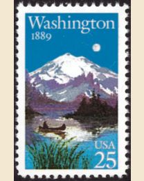 #2404 - 25¢ Washington Statehood