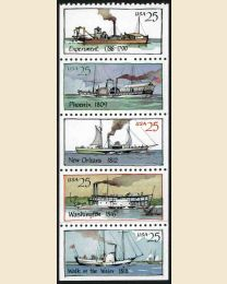 #2405S - 25¢ Steamboats