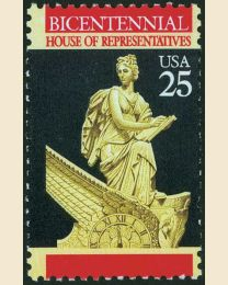 #2412 - 25¢ House of Representatives