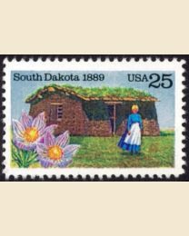 #2416 - 25¢ South Dakota Statehood