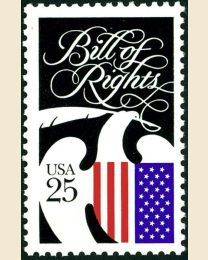 #2421 - 25¢ Bill of Rights