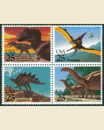 #2422S - 25¢ Prehistoric Animals