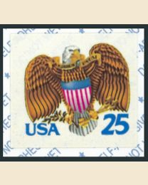 #2431 - 25¢ Eagle & Shield