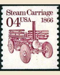 #2451 - 4¢  Steam Carriage