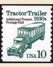 #2458 - 10¢ Tractor Trailer