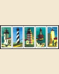 #2470S - 25¢ Lighthouses booklet