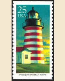 #2472 - 25¢ West Quoddy