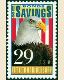 #2534 - 29¢ Savings Bonds