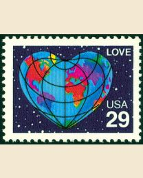 #2535 - 29¢ Love Earth
