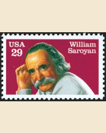 #2538 - 29¢ William Saroyan