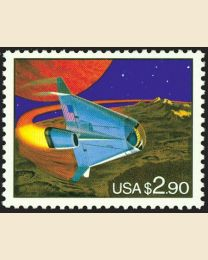 #2543 - $2.90 Space Vehicle
