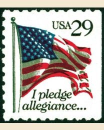 #2593 - 29¢ Pledge of Allegiance