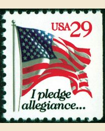 #2594 - 29¢ Pledge of Allegiance