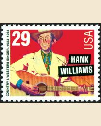 #2723 - 29¢ Hank Williams