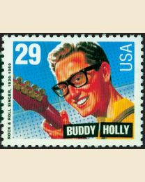 #2729 - 29¢ Buddy Holly