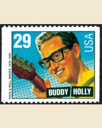 #2736 - 29¢ Buddy Holly