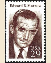 #2812 - 29¢ Edward R. Murrow