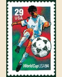 #2834 - 29¢ World Cup Soccer