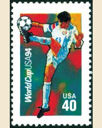#2835 - 40¢ World Cup Soccer