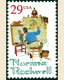 #2839 - 29¢ Norman Rockwell