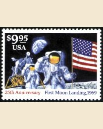#2842 - $9.95 Moon Landing Express Mail