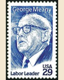 #2848 - 29¢ George Meany