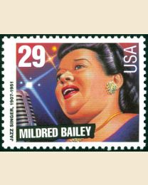#2860 - 29¢ Mildred Bailey
