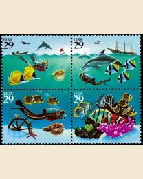 #2863S - 29¢ Wonders of the Sea