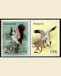 #2867S - 29¢ Cranes Joint Issue