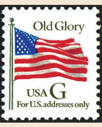 "#2881 - ""G"" Old Glory (32¢)"