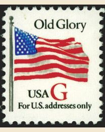 "#2882 - ""G"" Old Glory (32¢)"