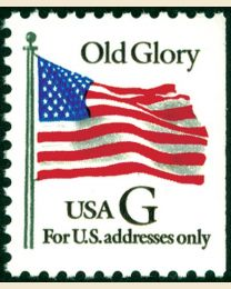 "#2883 - ""G"" Old Glory (32¢)"