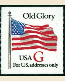 "#2892 - ""G"" Old Glory (32¢)"