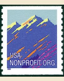 #2903 - Mountains (5¢) nonprofit