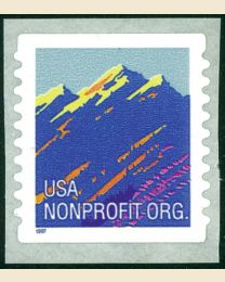 #2904B - Mountains (5¢) nonprofit