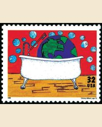 #2951 - 32¢ Earth Clean-Up